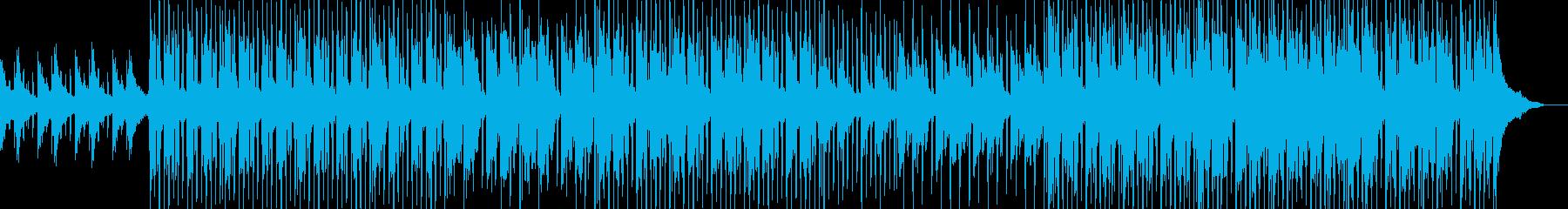 ミディアムテンポの爽やかなピアノサウンドの再生済みの波形