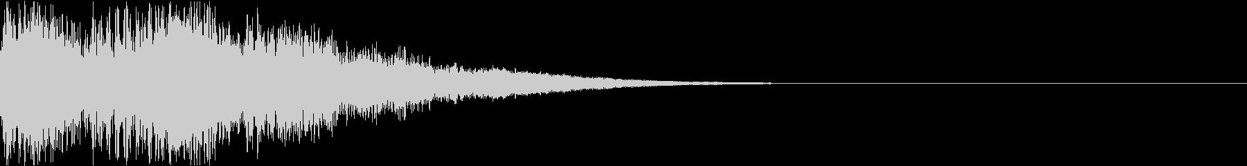 ロボット 合体 ガシーン キュイン 20の未再生の波形