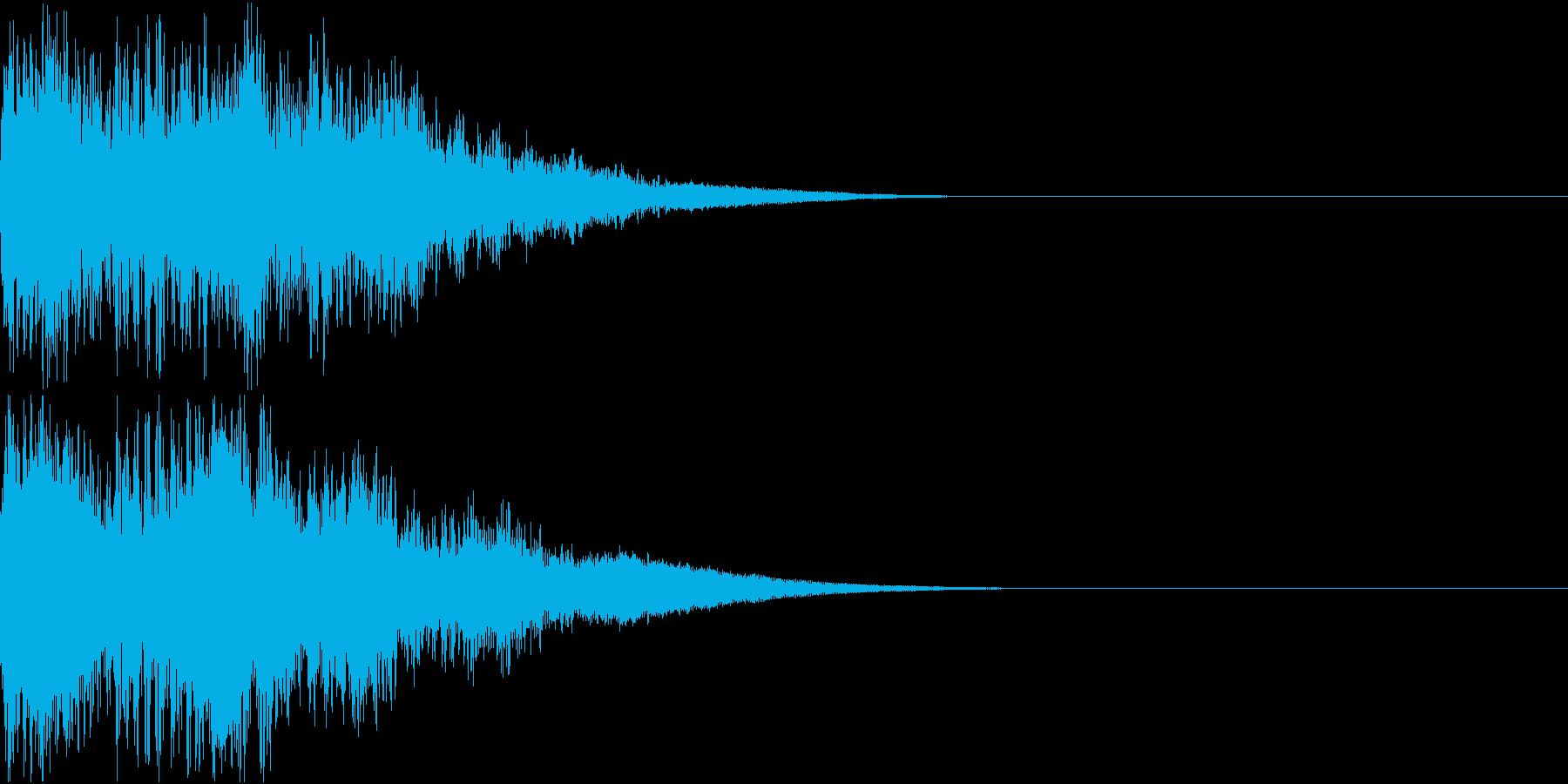 ロボット 合体 ガシーン キュイン 20の再生済みの波形