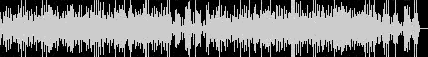 シンセベースが印象的な怪しい曲の未再生の波形