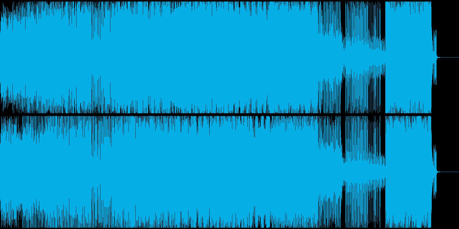 儚く切なげ、感動的なテクノサウンドの再生済みの波形