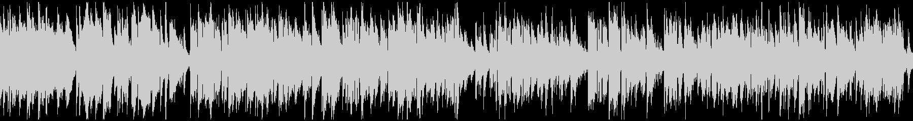 シリアスなジャズ、サックス ※ループ版の未再生の波形