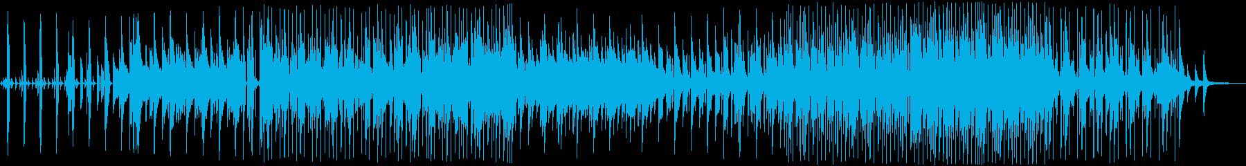 ゆるやかなリズム、ワクワクキラキラな日常の再生済みの波形