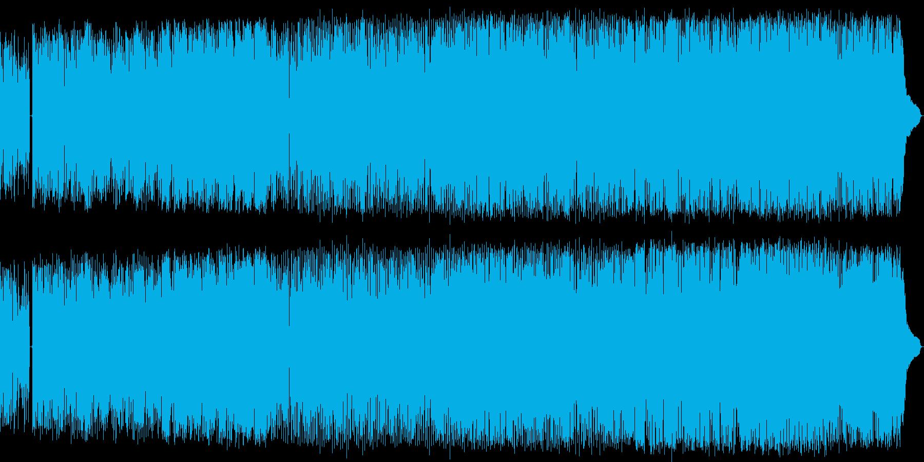優しくゆっくりと奏でるバラード・ロックの再生済みの波形