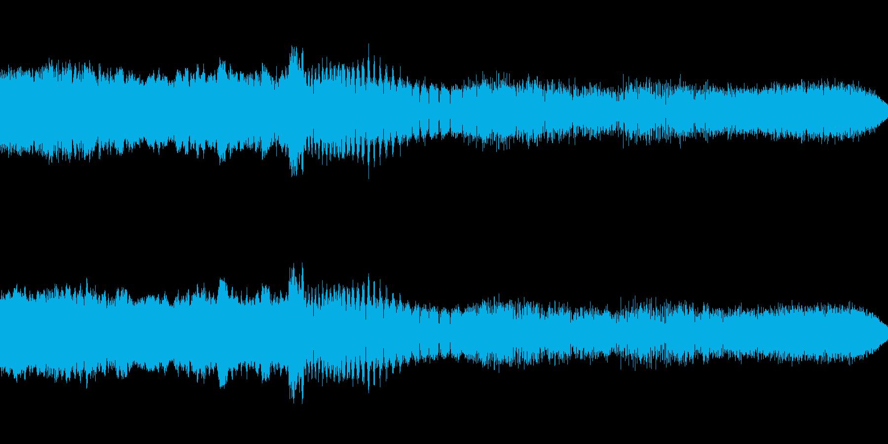 テンポのいい場面転換に最適です。の再生済みの波形