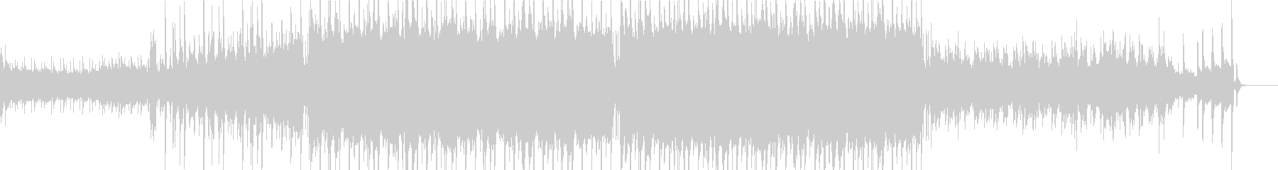 琴を用いた和風なヒップホップの未再生の波形