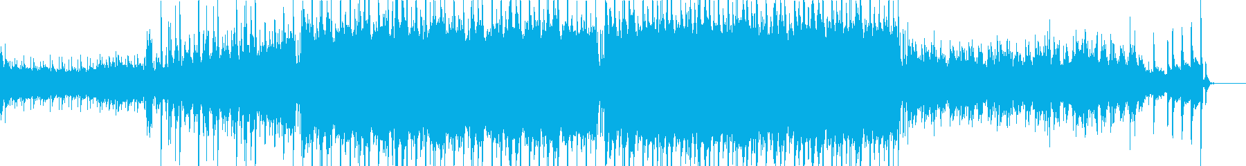 琴を用いた和風なヒップホップの再生済みの波形