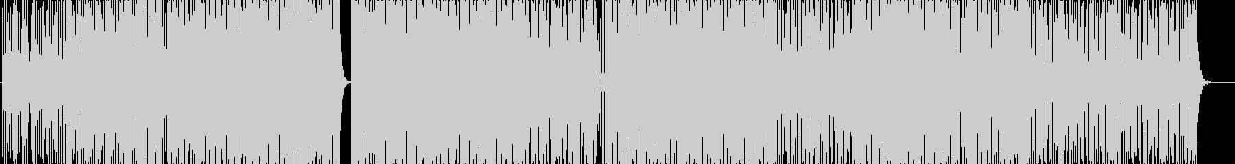 ハウス-EDM-アクティビティGoProの未再生の波形