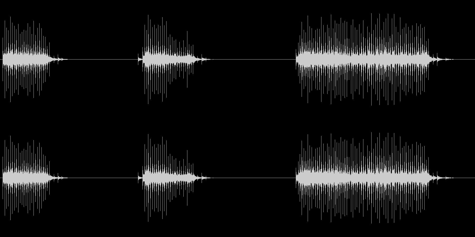 フレキシトーン:ラピッドワーリング...の未再生の波形