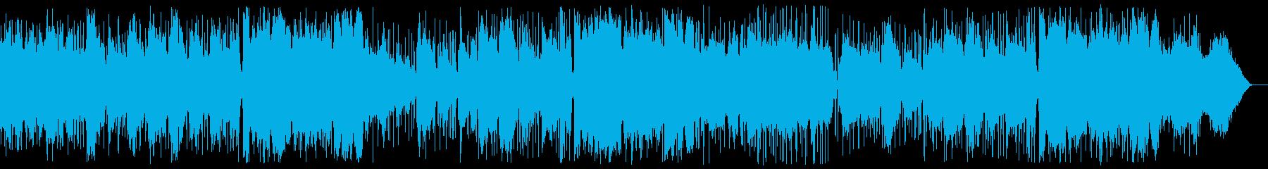 懐かしいフォークソングの再生済みの波形