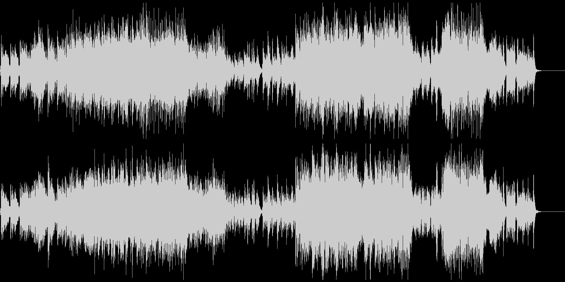 ジブリ風ノスタルジックで切ないワルツの未再生の波形