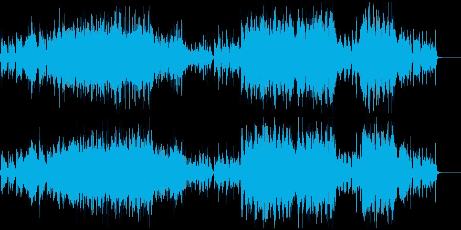 ジブリ風ノスタルジックで切ないワルツの再生済みの波形