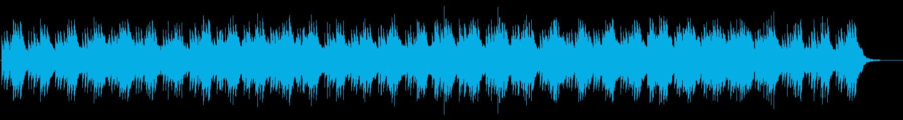 未来的・クールなイメージのアンビエントの再生済みの波形