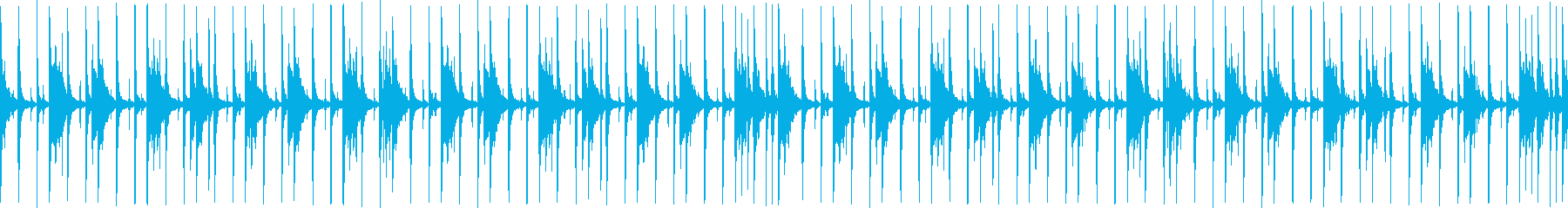Indian percussion's reproduced waveform