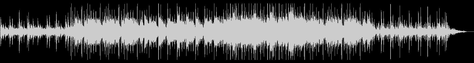 切ないピアノ アコギとブレイクビーツの未再生の波形