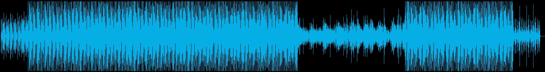 ※メロ無 ボサノバ風キュートなエレクトロの再生済みの波形