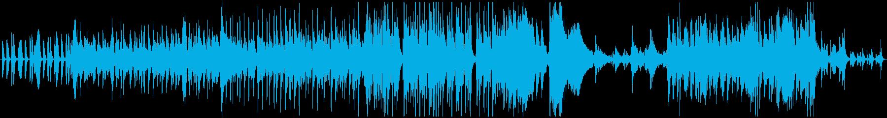 キュートで奇妙な怪しいコメディ風映画音楽の再生済みの波形