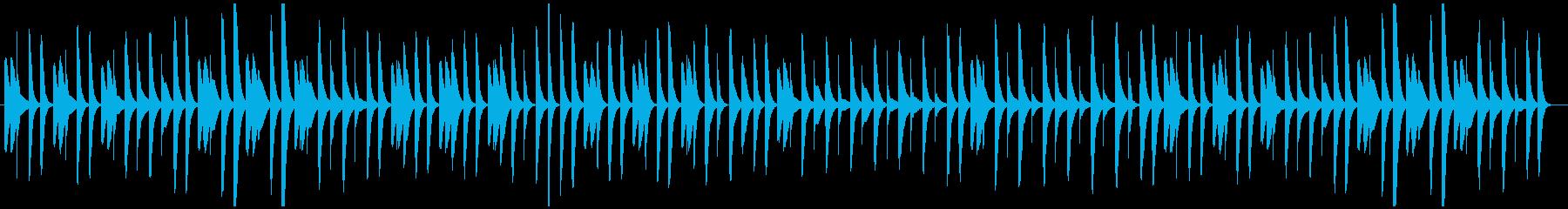 猫踏んじゃった【マリンバ】(スロー)の再生済みの波形