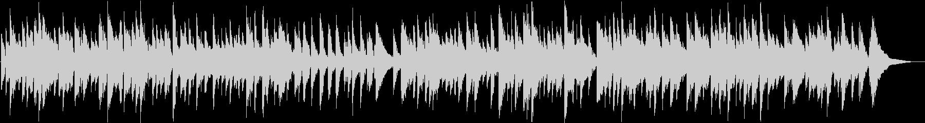 ホルスト名曲 ジュピター カバーアレンジの未再生の波形