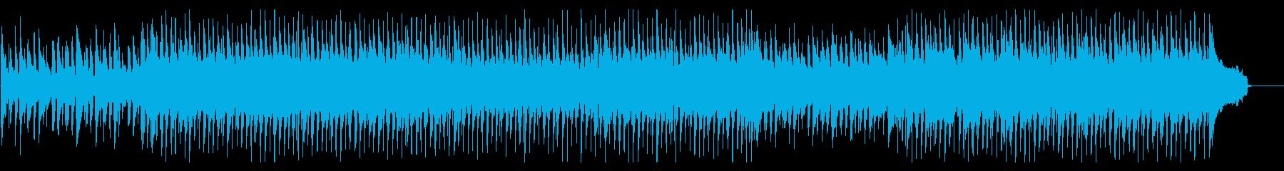 アップテンポで楽しげなコーポレートBGMの再生済みの波形