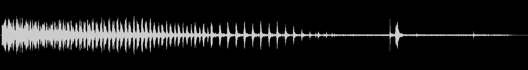 ドリルプレス:金属の穴あけの未再生の波形