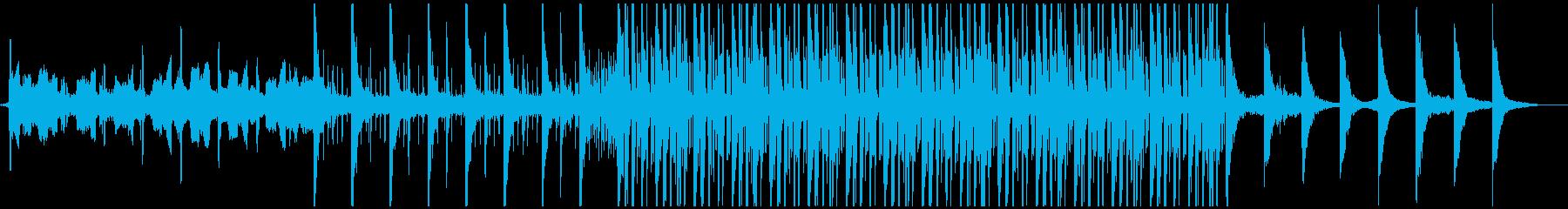 疾走感あふれるストリングスポップスの再生済みの波形