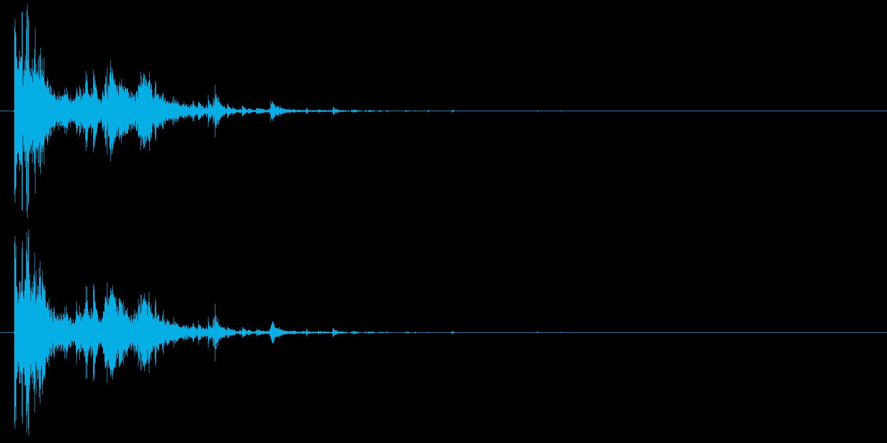 画像フレームのクラッシュの再生済みの波形