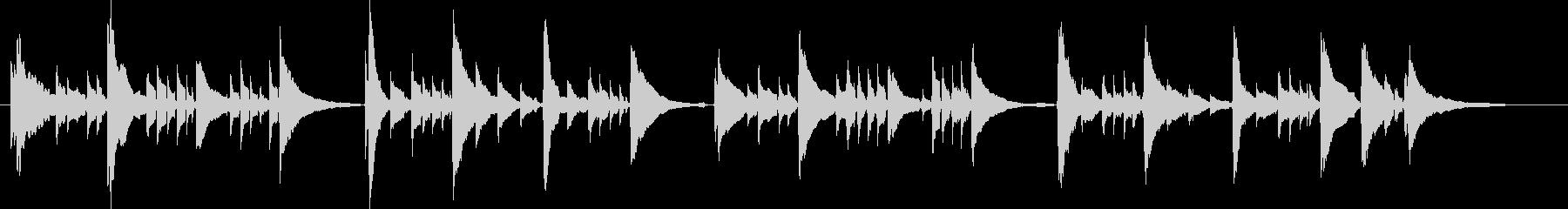 アコギ6/感動、重ね録り、爽やか、生音の未再生の波形