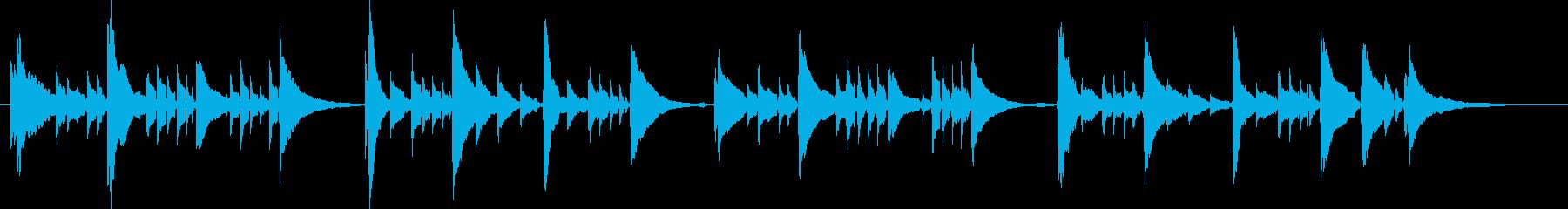 アコギ6/感動、重ね録り、爽やか、生音の再生済みの波形