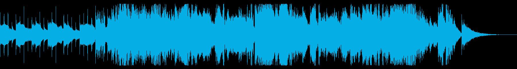スマートフォンダンス音楽シンセ通信...の再生済みの波形