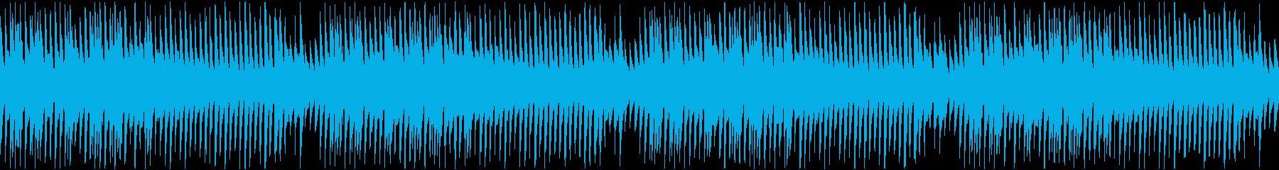 穏やか日常和風映像ほのぼの楽しい優しい琴の再生済みの波形