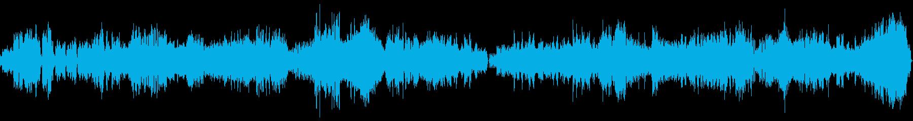 「偉大な芸術家の思い出」第1楽章の再生済みの波形