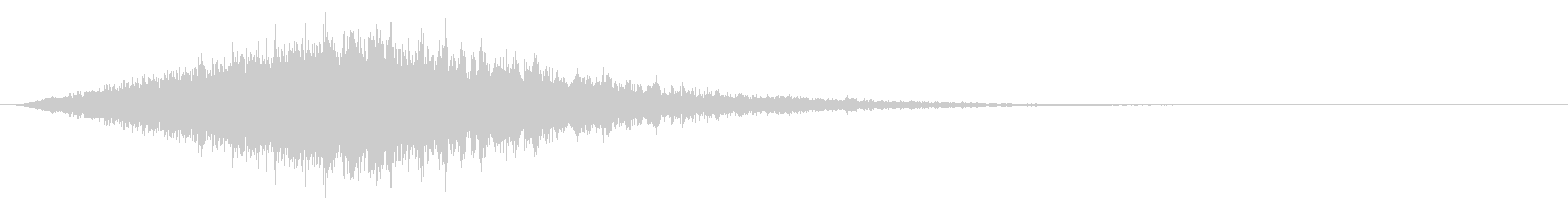 Sound of chanting or activating magic # 14's unreproduced waveform
