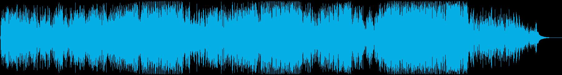 さわやかな自然を思わせる高音質ソロギターの再生済みの波形