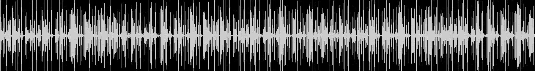 【ループ版】YouTube ピアノの未再生の波形