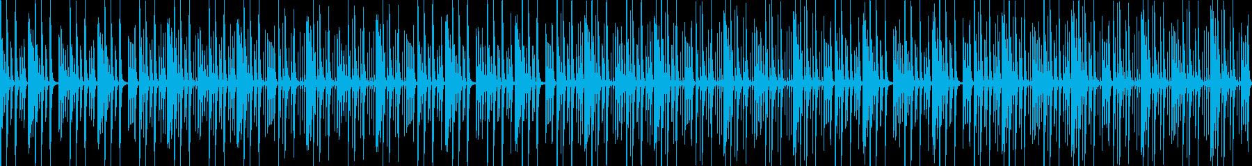 【ループ版】YouTube ピアノの再生済みの波形
