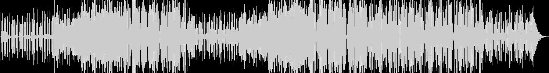 サックスとクールなシンセサウンドを...の未再生の波形