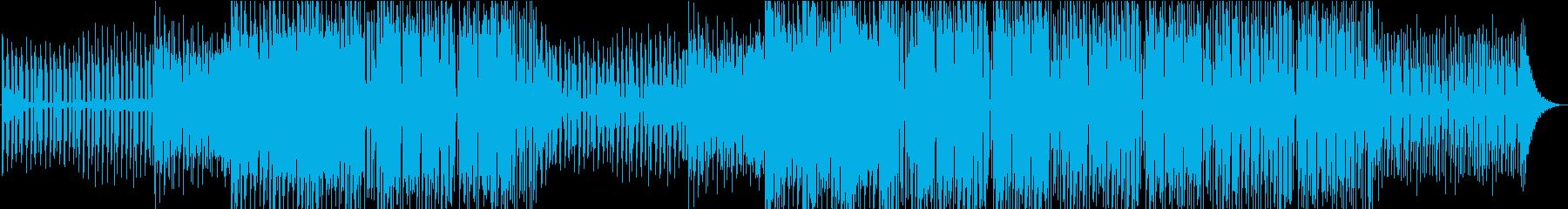 サックスとクールなシンセサウンドを...の再生済みの波形