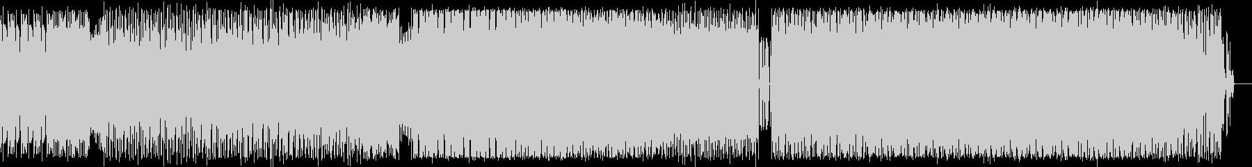 ダークなトランスの未再生の波形