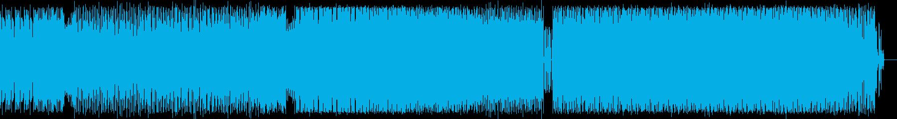 ダークなトランスの再生済みの波形
