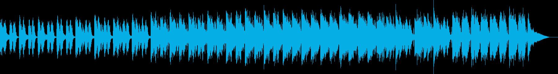 企業VP映像向け 無機質 知的 プレゼンの再生済みの波形