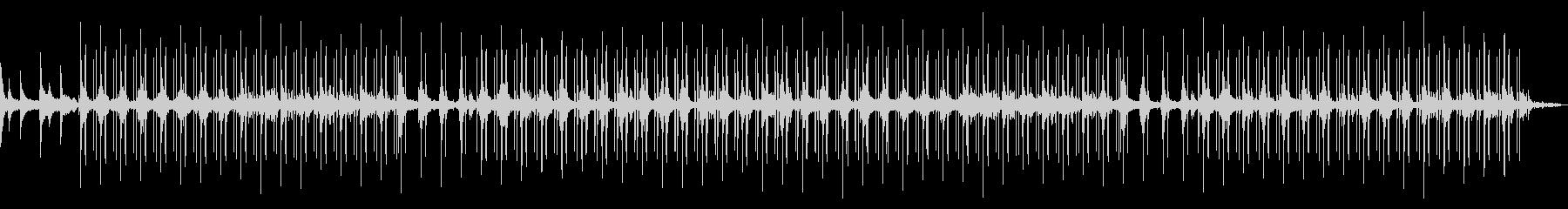 ロング! 雨音のするジャズLo-fiチルの未再生の波形