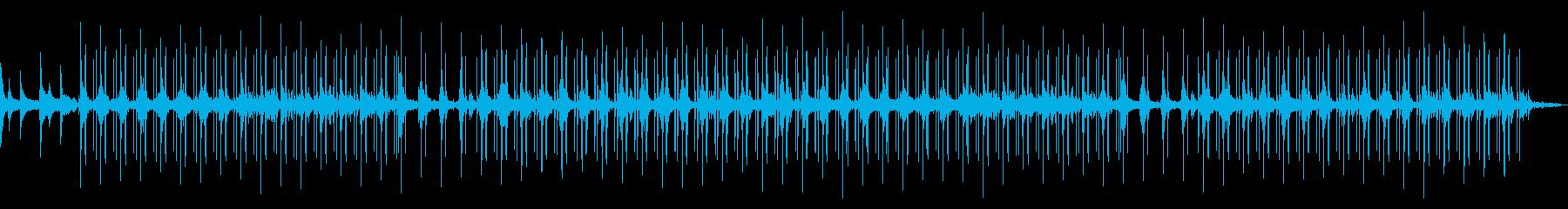 ロング! 雨音のするジャズLo-fiチルの再生済みの波形