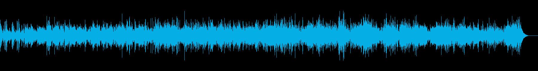 心弾む軽快なジャズの再生済みの波形