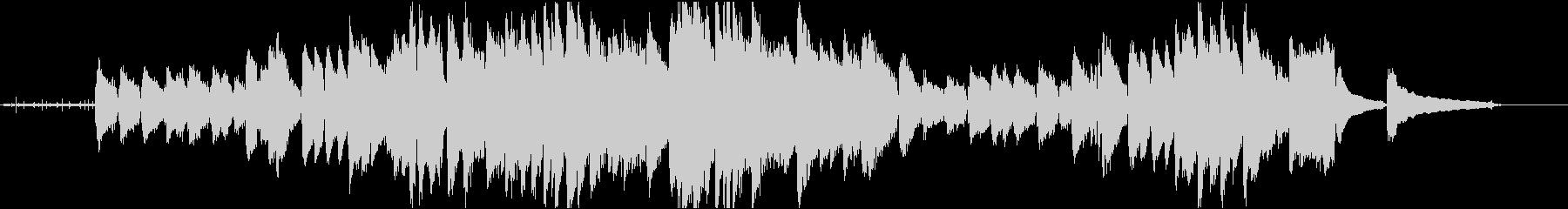 爽やかな3拍子のジャズピアノの未再生の波形