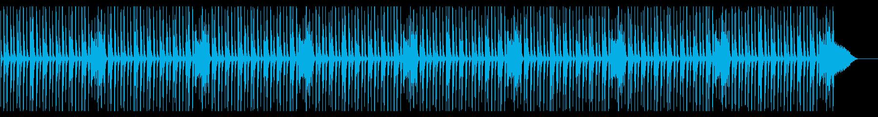 CMやアニメ系の日常(マリンバ)の再生済みの波形