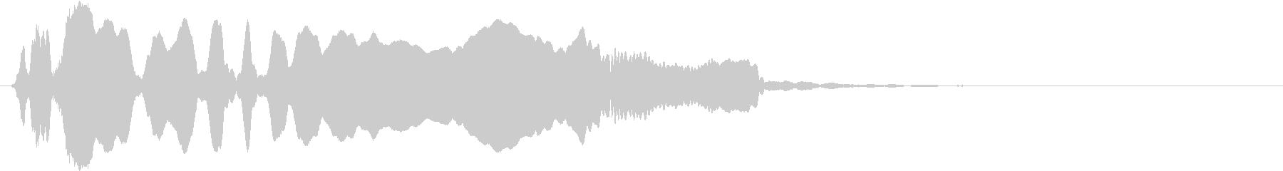 音侍SE「尺八フレーズ1」エニグマ音10の未再生の波形