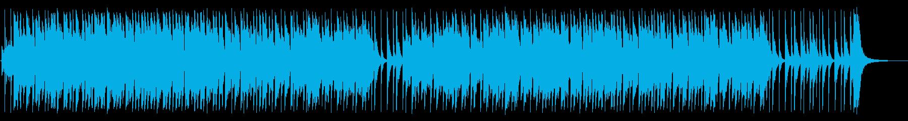 ビートルズ感のある明るいジングルの再生済みの波形