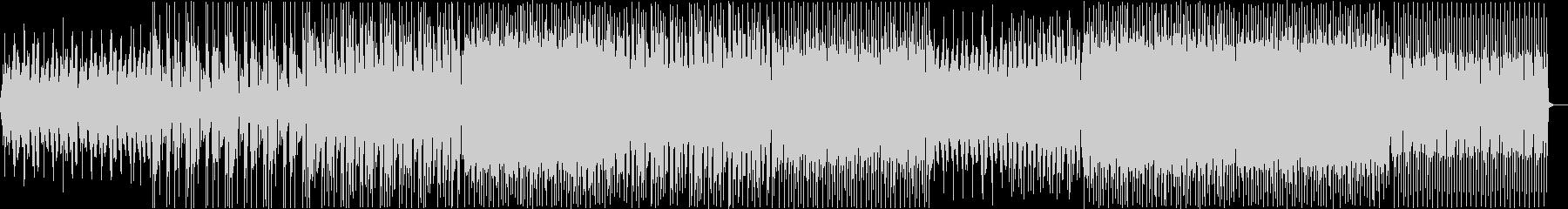少し切ないEDMの未再生の波形