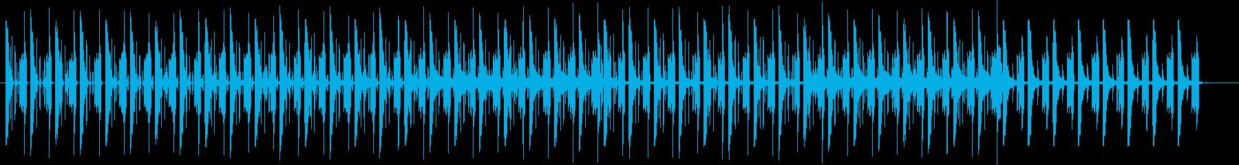 のんびり・ゆったりとしたい時に聞きたい曲の再生済みの波形